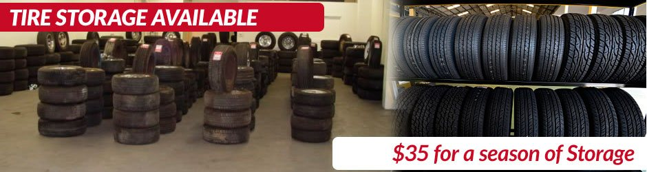 Tire Storage Available